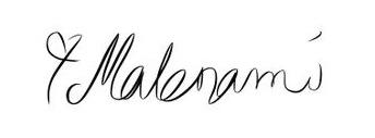 malenami-underskrift